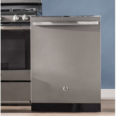 "24"" 45 dBA Built-In Dishwasher with 3rd Rack and Hidden Controls Finish: Slate"
