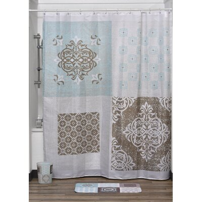 Faience Printed Shower Curtain
