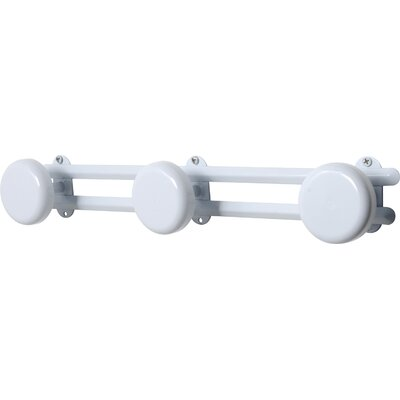 Wall Mounted Coat Rack Color: White
