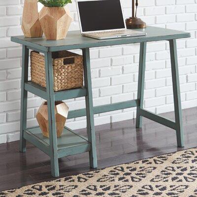 Lattimer Desk Color: Teal