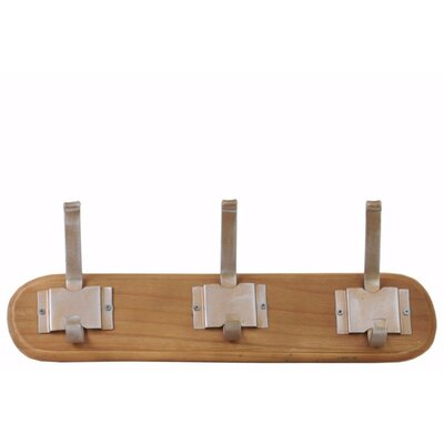 Palazzolo Varnished Wall Mounted Coat Rack