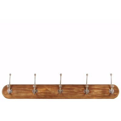 Howse Double Hooks Wall Mounted Coat Rack