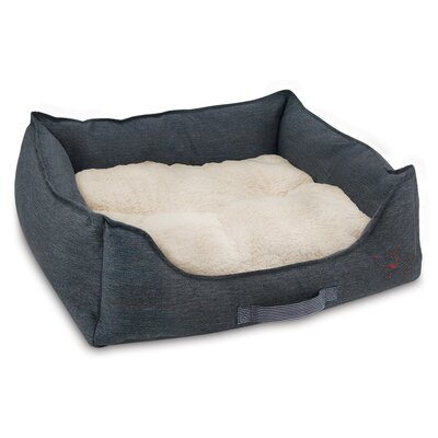 """Oxford Pet Bolster Size: Small (22"""" W x 20"""" D x 8"""" H)"""