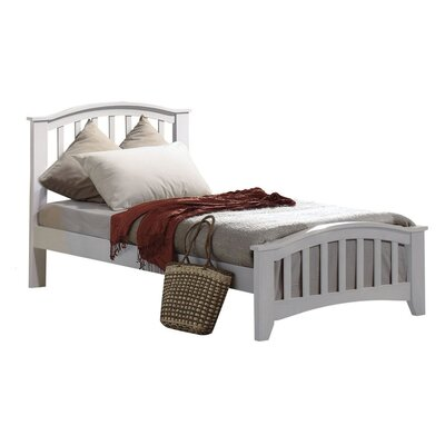 Giese Platform Bed Size: Twin, Bed Frame Color: White