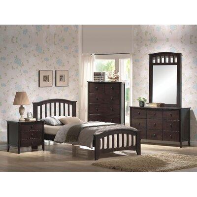 Giese Platform Bed Size: Full, Bed Frame Color: Dark Walnut