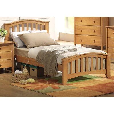 Giese Platform Bed Size: Full, Bed Frame Color: Maple