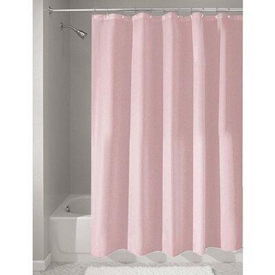 Middlebury Heavy Vinyl Shower Liner Color: Pink