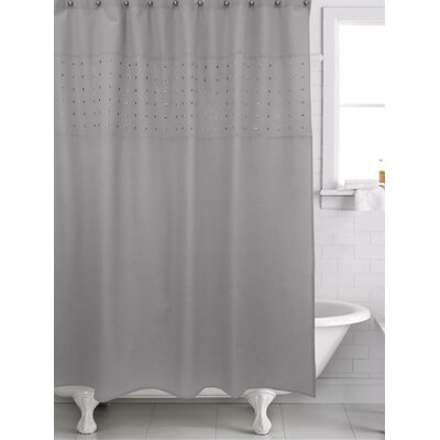 Potts Shower Curtain Color: Gray