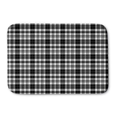 "Longford Memory Foam Bath Rug Size: 0.75"" H x 24"" W x 36"" L, Color: Black"