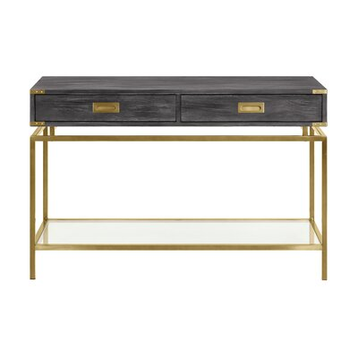 Laforcel 2 Drawer Console Table