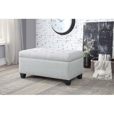 Keithsburg Upholstered Storage Bench Upholstery: Beige