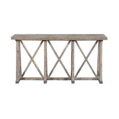 Calgary Cross Console Table