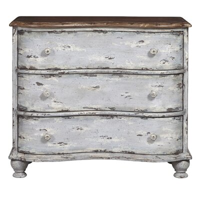 Royce Farmhouse 3 Drawer Accent Chest