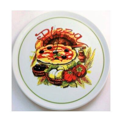 """Cinzia La Vera 12"""" Pizza Serving Dish (Set of 2)"""