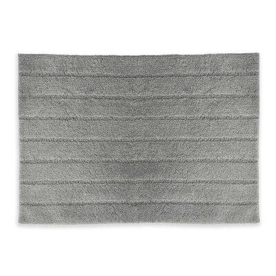 Veruka Bath Rug Color: Gray