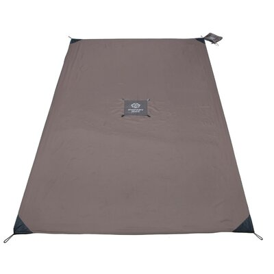 Monkey Mat Size: 5' x 8', Color: Gray Groove