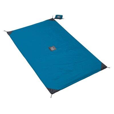 Monkey Mat Size: 3' x 5', Color: Blue Yonder