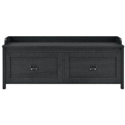 Wittenburg Storage Bench Color: Smokehouse