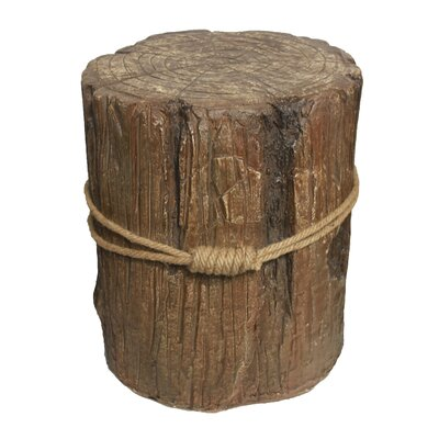 Bowers Wooden Accent Stool