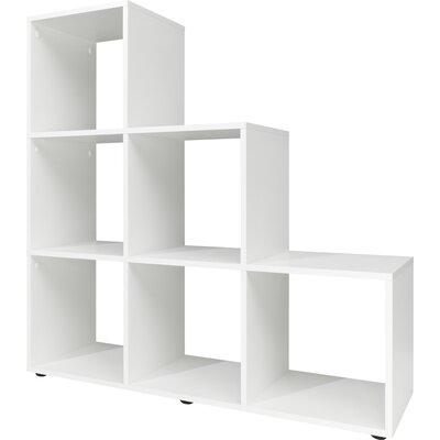Haner Cube Unit Bookcase Color: White