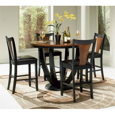 Rhem 5 Piece Counter Height Dining Set