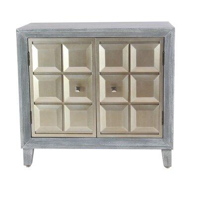 Alvarenga Modern Wood 2 Door Accent Cabinet