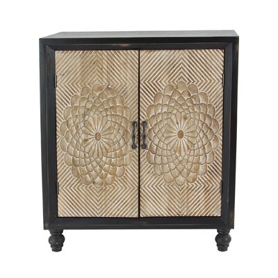 Gossard Traditional Wood 2 Door Accent Cabinet