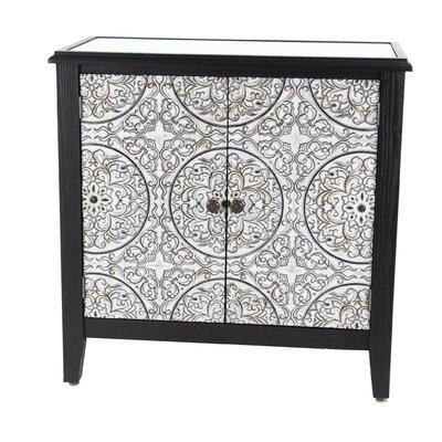 Gosser Traditional Wood 2 Door Accent Cabinet