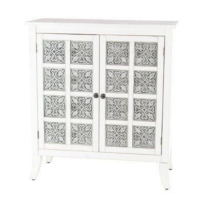 Pawnee Modern Wood 2 Door Accent Cabinet