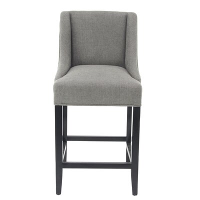 Aahil Eclectic Chenille Center Vanity Stool