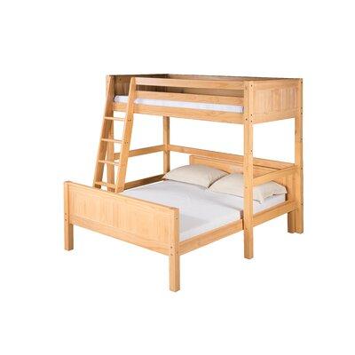 Glessner Twin over Full L Shape Bunk Bed Bed Frame Color: Natural