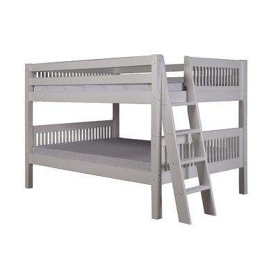 Getz Full Over Full Bunk Bed Bed Frame Color: White