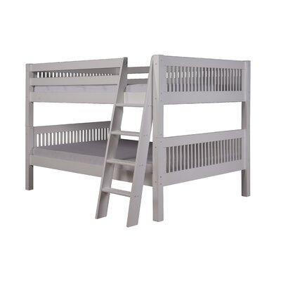 Giambrone Full Over Full Bunk Bed Bed Frame Color: White