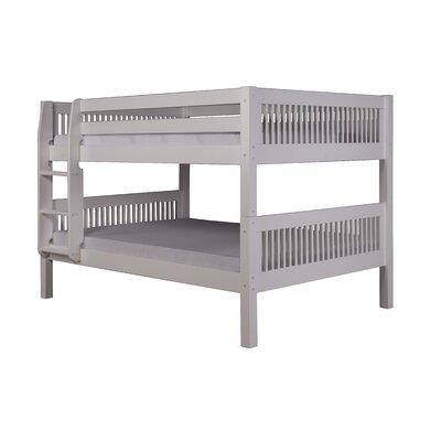 Gettys Full Over Full Bunk Bed Bed Frame Color: White