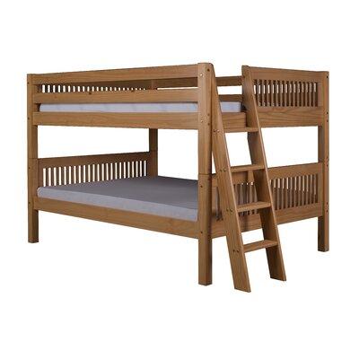 Getz Full Over Full Bunk Bed Bed Frame Color: Natural