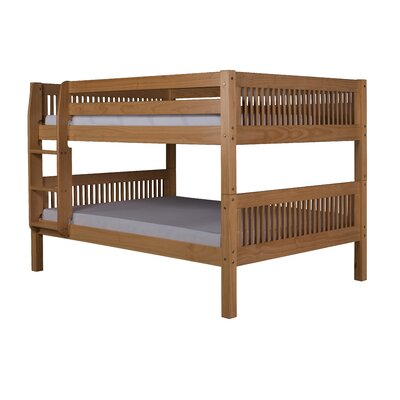 Gettys Full Over Full Bunk Bed Bed Frame Color: Natural