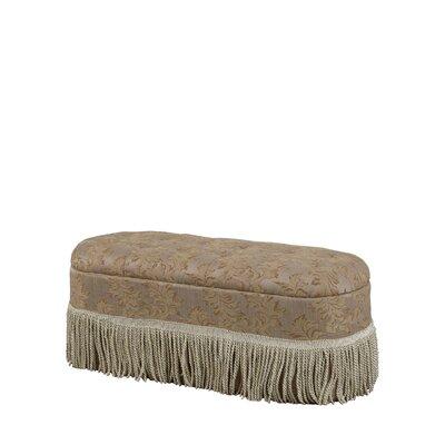 Finley Floral Upholstered Storage Bench