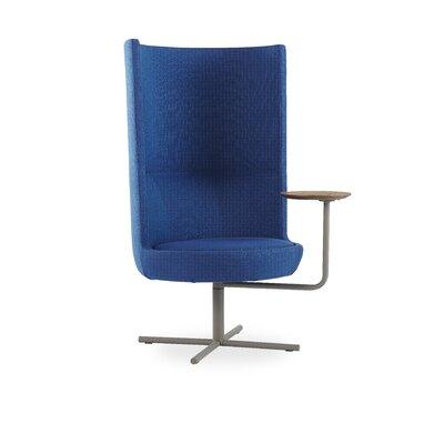 Lemond Round Lounge Chair Seat Color: Blue
