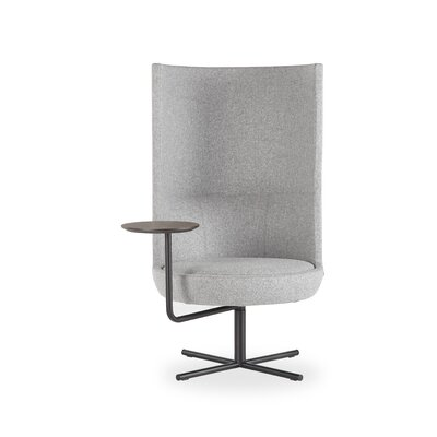 Lemond Round Lounge Chair Seat Color: Light Gray