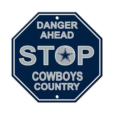 NFL Stop Sign NFL Team: Dallas Cowboys