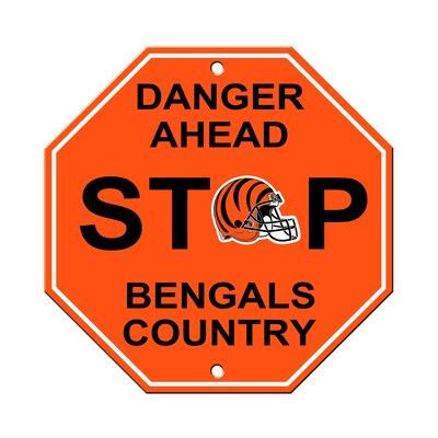 NFL Stop Sign NFL Team: Cincinnati Bengals