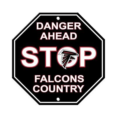 NFL Stop Sign NFL Team: Atlanta Falcons