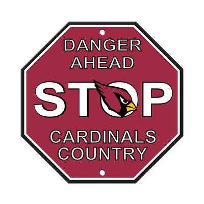 NFL Stop Sign NFL Team: Arizona Cardinals