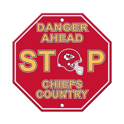 NFL Stop Sign NFL Team: Kansas City Chiefs