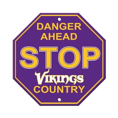 NFL Stop Sign NFL Team: Minnesota Vikings