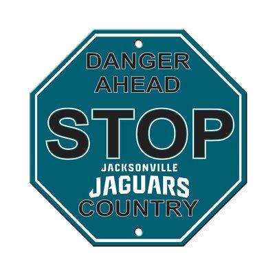 NFL Stop Sign NFL Team: Jacksonville Jaguars
