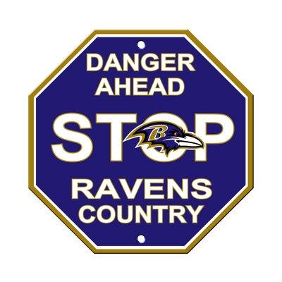 NFL Stop Sign NFL Team: Baltimore Ravens