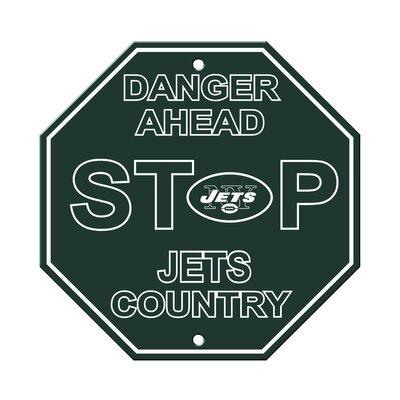 NFL Stop Sign NFL Team: New York Jets
