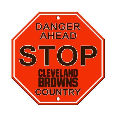 NFL Stop Sign NFL Team: Cleveland Browns