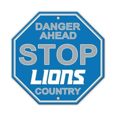 NFL Stop Sign NFL Team: Detroit Lions